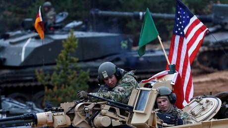 Des soldats américains prenant part à un exercice de l'OTAN à Adazi, en Lettonie, le 23 octobre 2018 (image d'illustration).
