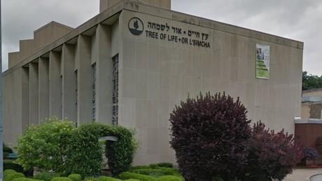 La Synagogue «arbre de vie» à Pittsburgh, en Pennsylvanie.
