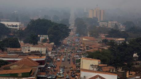 Un quartier de Bangui capitale de la République centrafricaine. Photo prise le 16 février 2016 (image d'illustration).