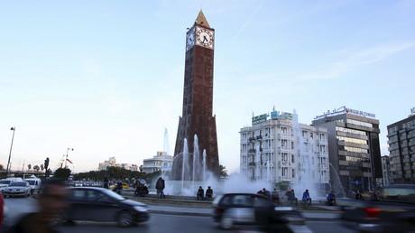 L'horloge obélisque située au bout de l'avenue Habib Bourguiba à Tunis, le 9 décembre 2015 (image d'illustration).