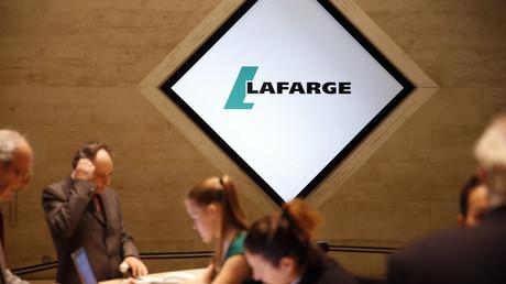 Siège de Lafarge à Paris, le 7 mai 2015.