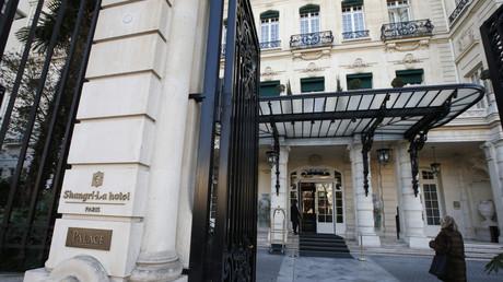 L'hôtel Shangri-La à Paris le 21 janvier 2016 (image d'illustration).