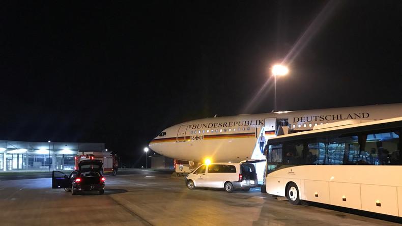 Atterrissage d'urgence de Merkel : la piste criminelle est envisagée