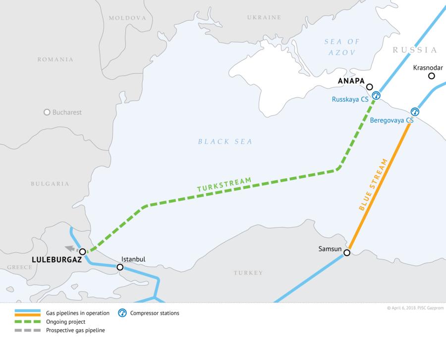 Poutine et Erdogan se retrouvent à Istanbul pour l'inauguration de TurkStream
