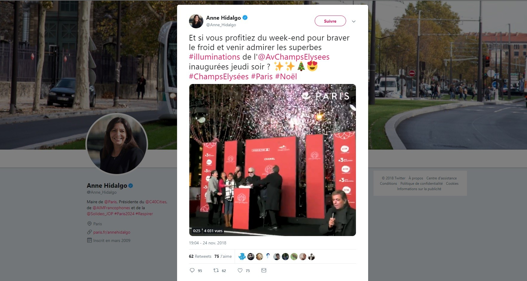 Le tweet qu'Anne Hidalgo n'aurait jamais dû publier — Gilets Jaunes