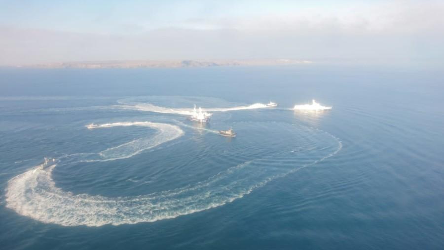 Crimée : trois navires ukrainiens entrent dans les eaux russes et ignorent les sommations