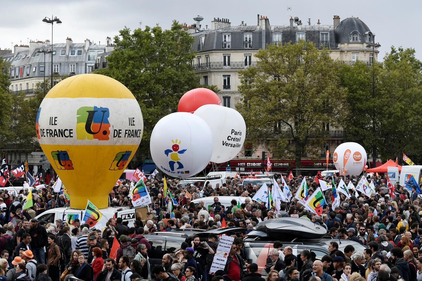 De la loi Savary à la loi Travail, ces manifestations qui ont bousculé les prédécesseurs de Macron