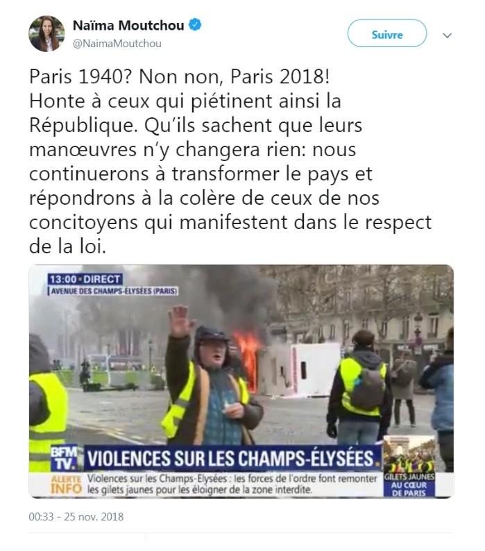 Le rapporteur LREM de la loi anti-fake news a-t-il relayé... une fake news sur les Gilets jaunes ?