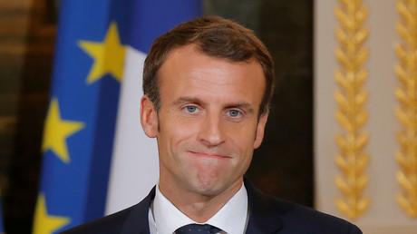 Emmanuel Macron le 29 octobre, à l'Elysée (image d'illustration).
