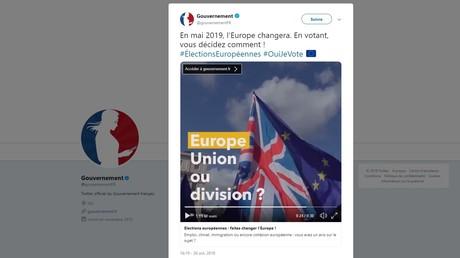 «Propagande» ? Le clip du gouvernement français pour les européennes fait polémique