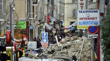 Les premières images des deux immeubles effondrés à Marseille (PHOTOS, VIDEO)