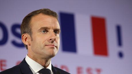 Emmanuel Macron le 5 novembre 2018 .