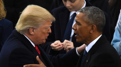 Donald Trump et Barack Obama : les deux hommes forts du mi-mandat américain