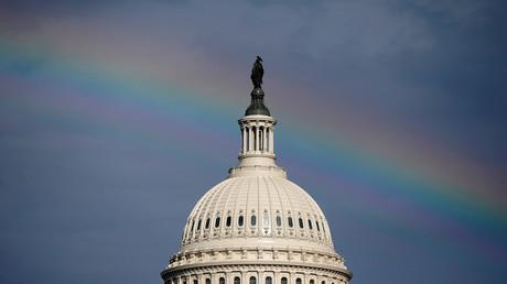 Dôme du capitole des Etats-Unis (image d'illustration).