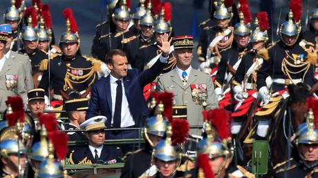 La «vraie armée européenne» de Macron, de la poudre de perlimpinpin