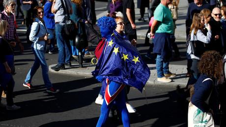 Manifestant anti-Brexit (image d'illustration).