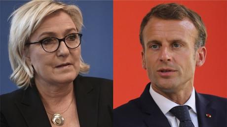 Marine Le Pen accuse Emmanuel Macron de prendre «le parti de la guerre» face à la Russie