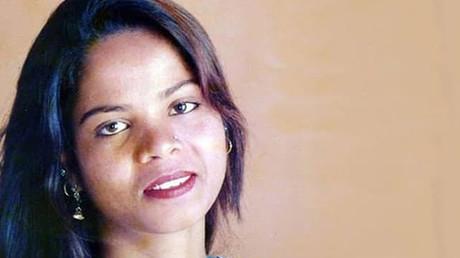Portrait d'Asia Bibi non daté.