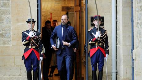 Edouard Philippe au sortir du conseil des ministres à Charleville-Mézières, le 7 novembre (image d'illustration).
