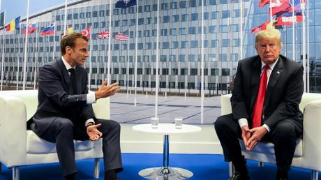 «Très insultant» : Trump charge Macron suite à sa proposition d'armée européenne