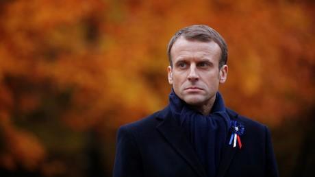 Emmanuel Macron était visé par des militants de l'ultradroite.