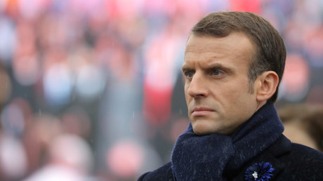 Emmanuel Macron le 11 novembre 20148 à Paris.