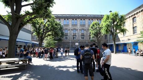Lycée à Paris (Image d'illustration).