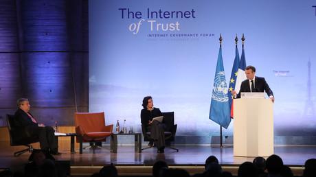 Sauver l'«internet libre» ? Macron annonce que Facebook acceptera des «régulateurs français»