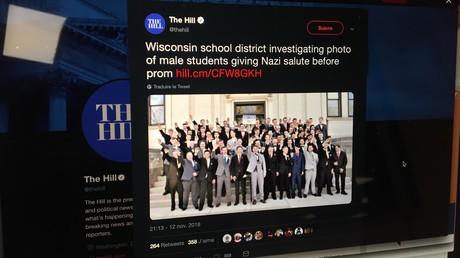 Etats-Unis : des élèves du Wisconsin ont-il exécuté un salut nazi pour une photo de classe ?