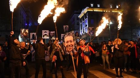 Une «marche de la colère» dégénère à Marseille après l'effondrement meurtrier