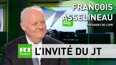 François Asselineau : «La politique de Macron consiste à tout donner aux Allemands» (VIDEO)