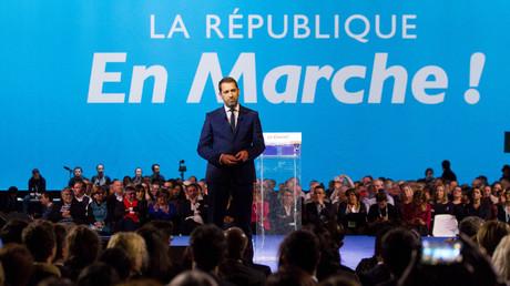 Les militants marcheurs avaient désigné Christophe Castaner à la tête du parti en novembre 2017.