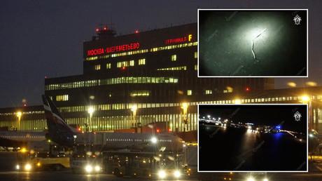 Un avion déchiquette un homme au moment du décollage d'un aéroport de Moscou (VIDEO)