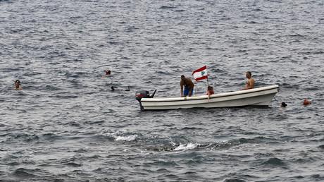 Un bateau au large de Beyrouth le 6 mai 2018 (image d'illustration)