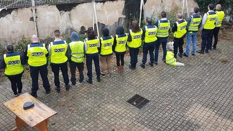 Capture d'écran Facebook du Collectif autonome des policiers d'Ile-de-France