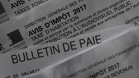 Avis d'impôt (image d'illustration)