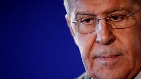 Sergueï Lavrov le 27 novembre 2018 à Paris.