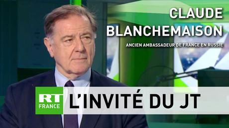Pour Claude Blanchemaison, le dialogue franco-russe reste «très riche» malgré des divergences