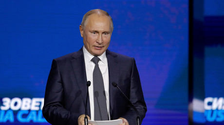 Vladimir Poutine à Moscou le 28 novembre 2018.