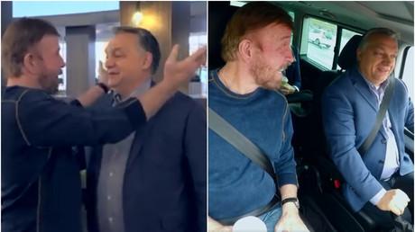 «Amis pour la vie» : Chuck Norris et Viktor Orban se découvrent plus que des points communs (VIDEO)