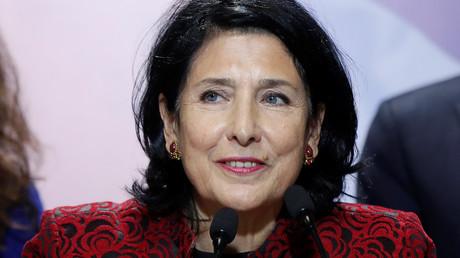 La nouvelle présidente géorgienne Salomé Zourabichvili.