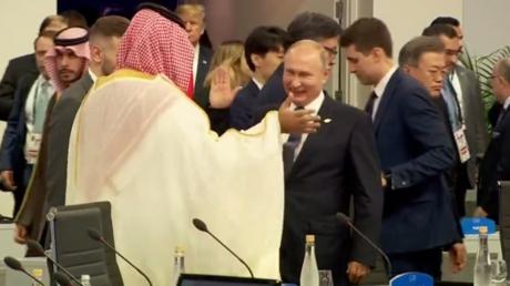 G20 : Poutine a tapé dans la main de ben Salmane, mais a-t-il serré celle de Trump ? (VIDEOS)