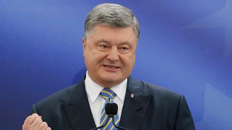 Le président ukrainien Petro Porochenko