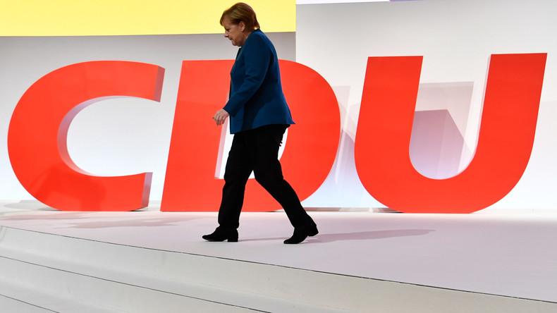Testament politique : Merkel appelle son parti à défendre les valeurs «démocratiques et chrétiennes»