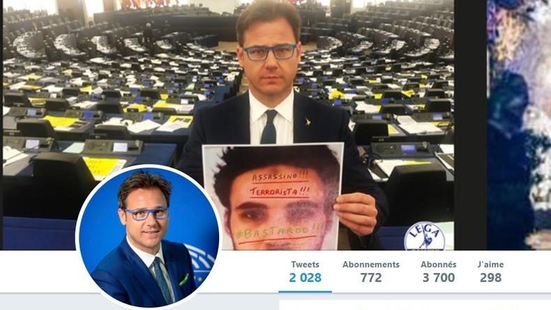 «Réveillez-vous !» : un eurodéputé italien brandit un gilet jaune au Parlement à Strasbourg (VIDEO)