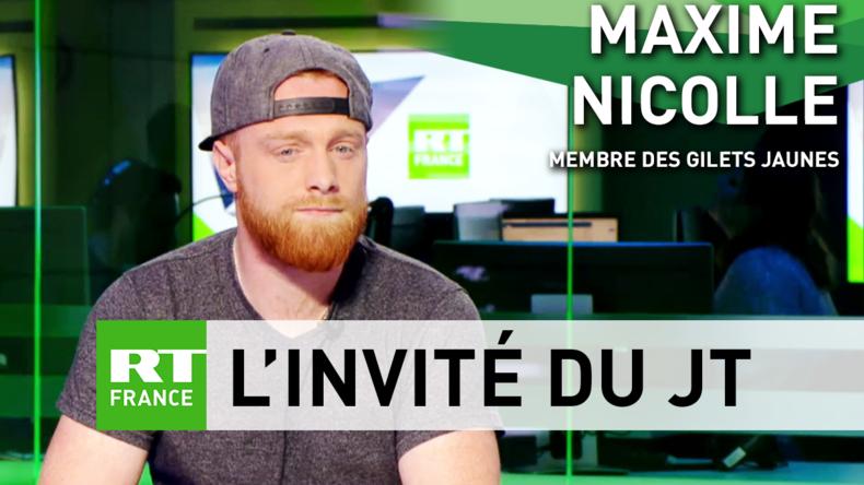 Maxime Nicolle, alias Fly Rider : «Je n'ai pas véhiculé de théorie du complot»