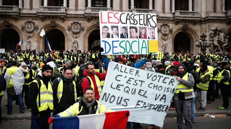 Une liste des Gilets jaunes aux européennes ferait-elle le jeu de LREM ?