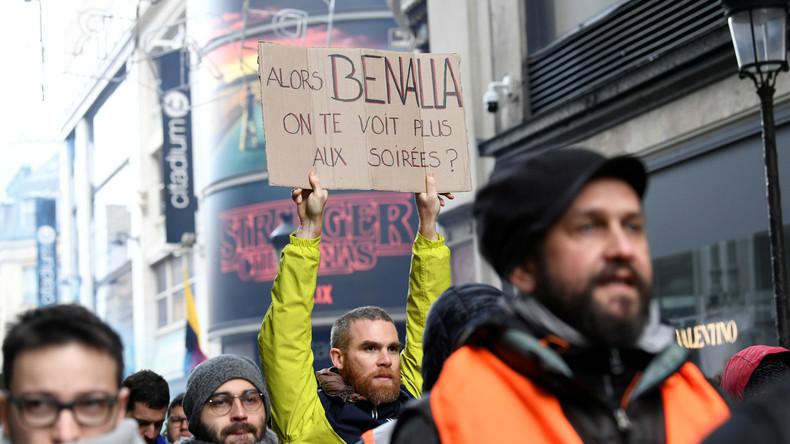 «J'ai un peu le cœur jaune» : Benalla consulté par Macron sur la crise des Gilets jaunes ?