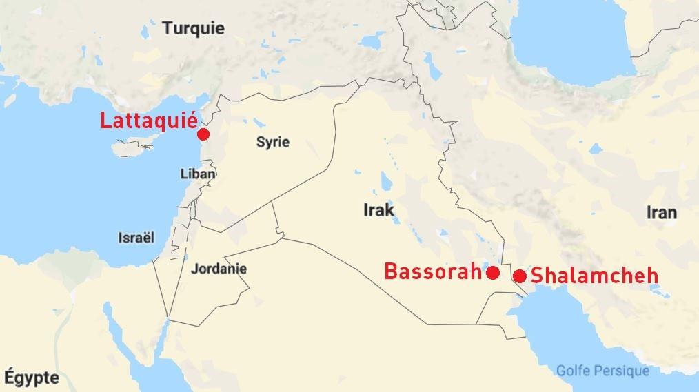 Des avancées pour un réseau ferroviaire reliant l'Iran à la Syrie, en passant par l'Irak
