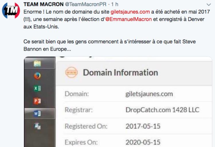 Des députés LREM propagent une fake news complotiste sur les Gilets jaunes